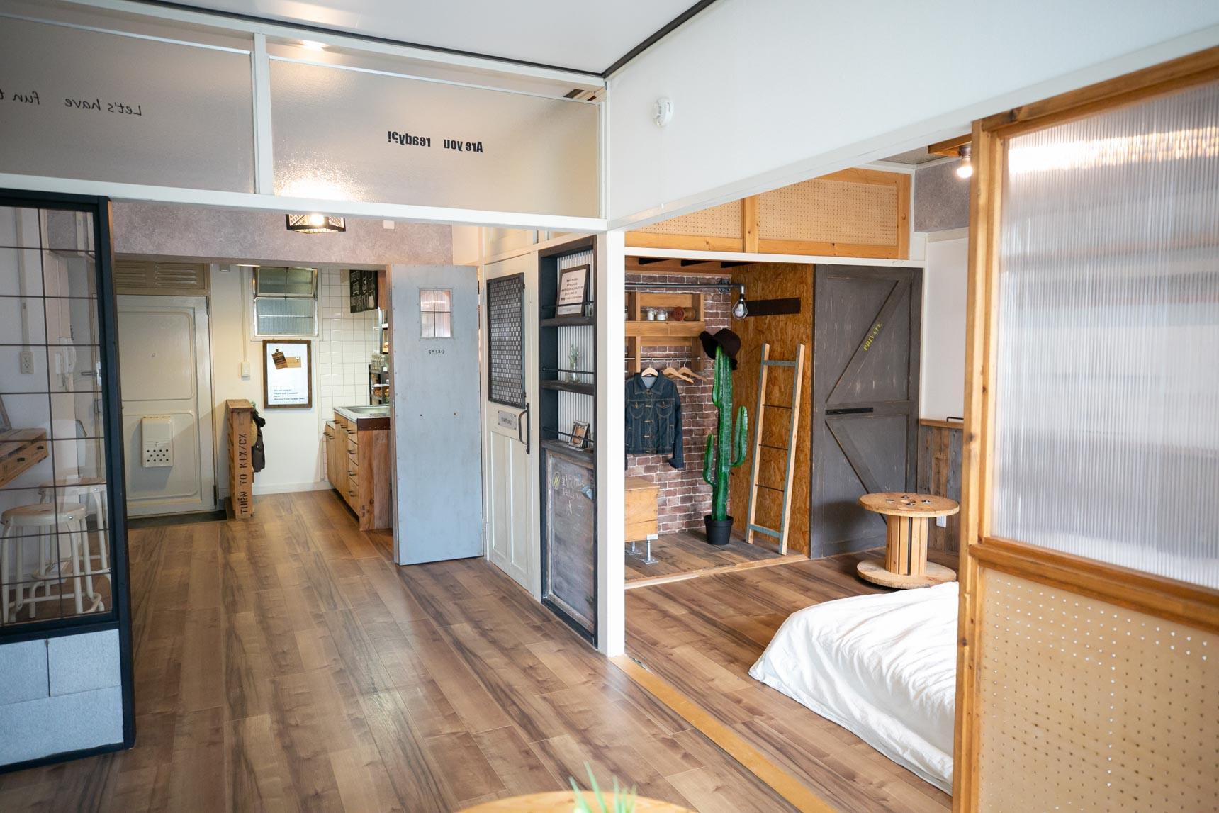 モデルルームでも、元々の団地のよさを生かした空間づくりがされているのが素敵だなと感じました。