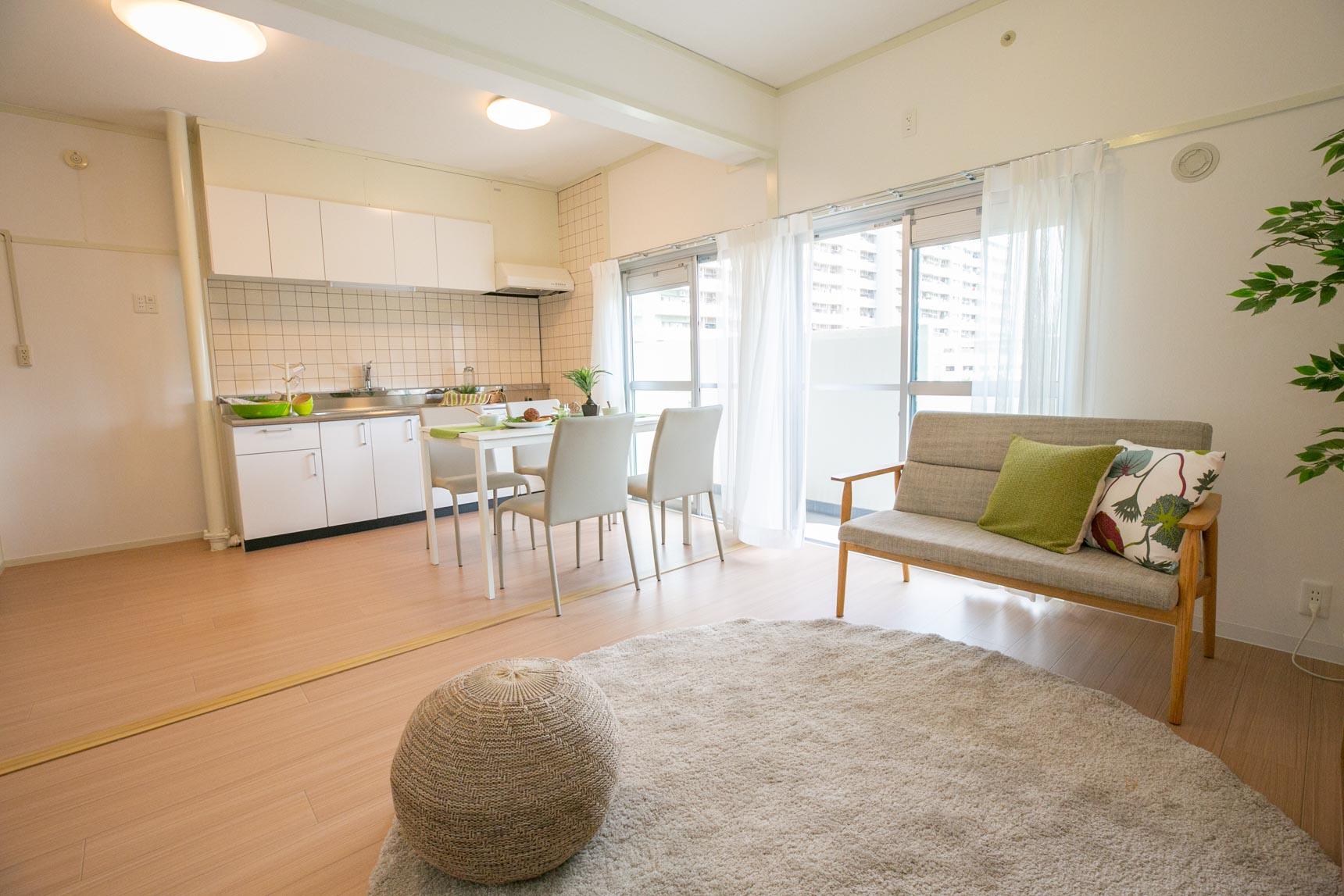 内装も、白を基調にナチュラルで明るい雰囲気で、家具が合わせやすそうですよね。