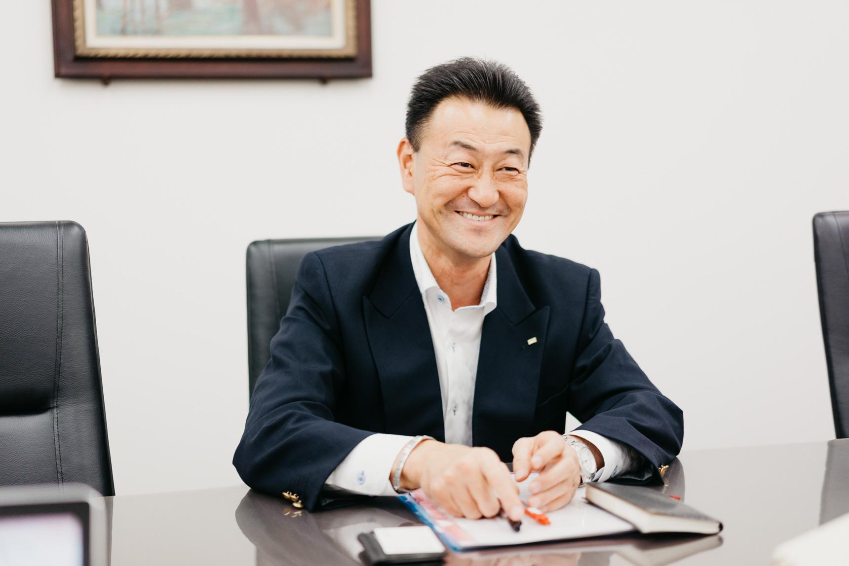お話を聞かせてくださったのは、取締役 営業本部長の疋田良広さん。