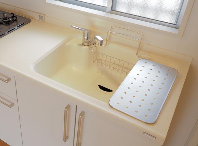 洗う前に、「洗ったもの置き場」を空っぽに。これ意外と大事です。