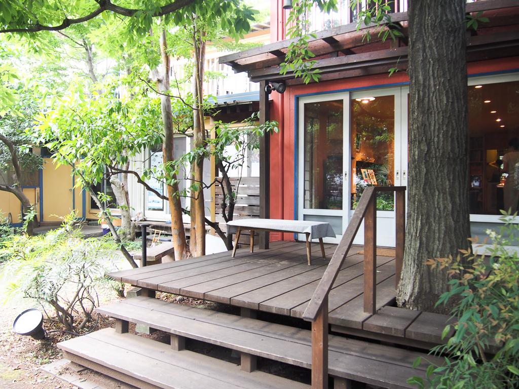 古い家屋をリノベ―ションして造られたカフェ「えんがわ」