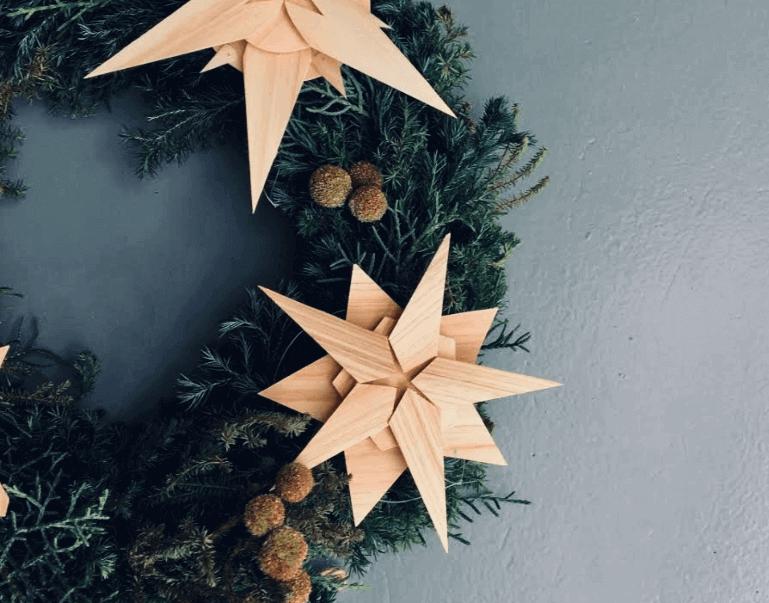 12/7(土)錦糸町開催!今年のクリスマスはちょっぴりシックに。『ヒノキでつくるクリスマスオーナメント』ワークショップ