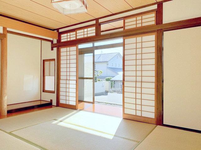 縁側のある和室、なんていうのも日本の暮らしが満喫できてお子さんたちが喜びそうです。