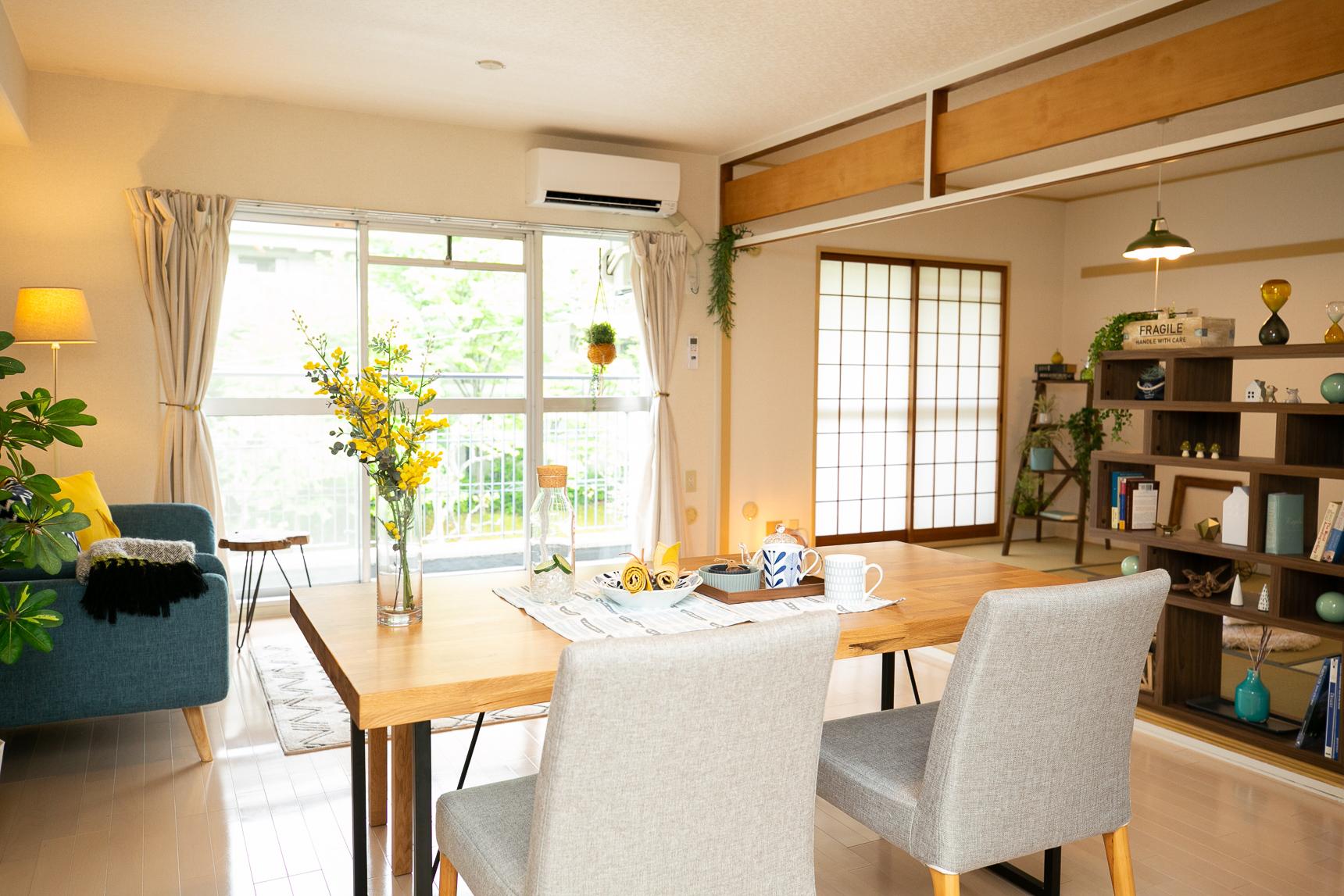 UR賃貸住宅には、リノベーションを実施したお部屋もたくさんあります(こちらは藤沢台第3団地 https://www.goodrooms.jp/journal/?p=23636)