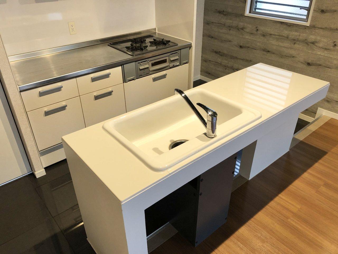 使いやすいⅡ型キッチン。