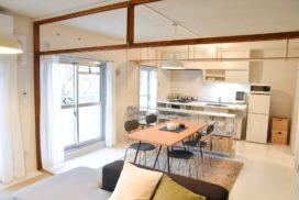 四箇田団地に MUJI×UR 団地リノベーションプロジェクトのお部屋が登場!ゆるやかにつながる間取りで、自分らしい1部屋をつくろう