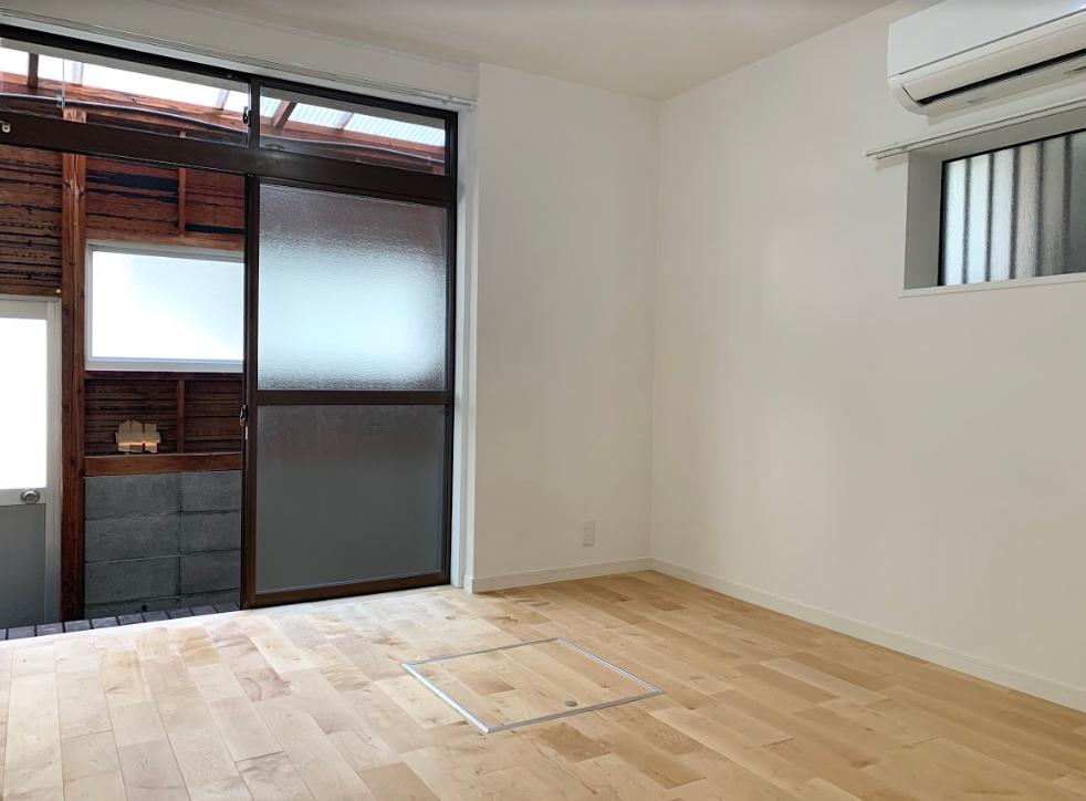 洋室、畳の部屋、それぞれ合わせて間取りは4SLDK。洋室にももちろん無垢材が使われています。