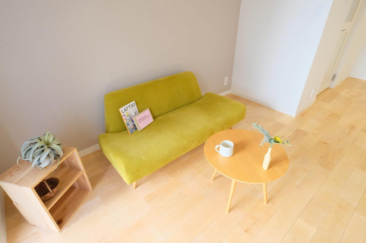 さて、最後はgoodroomの誇るオリジナルリノベーション「TOMOS」で作られたお部屋です。築年数はだいぶ経っていますが、今どきのデザインで生まれ変わります。(※入居日はスタッフにご相談ください※)