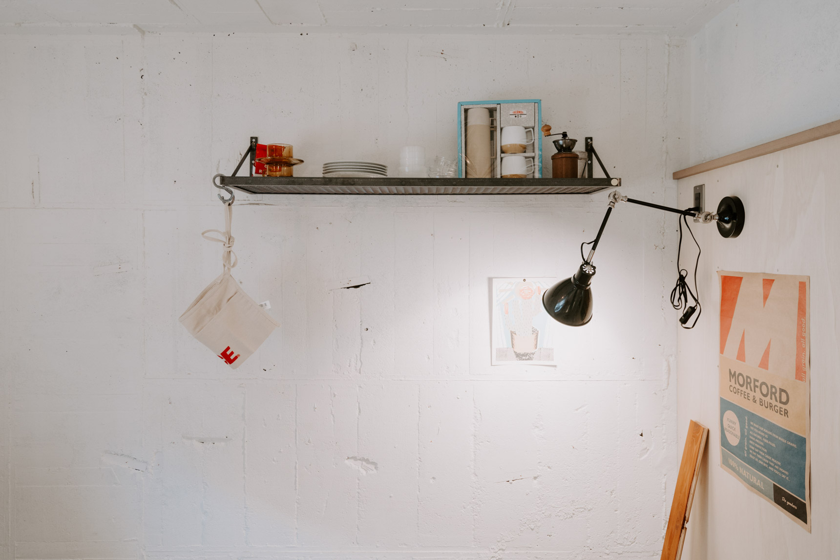棚をつけたり、照明をつけたり。今まで「賃貸ではできない」と思っていたことが色々実現できそう。