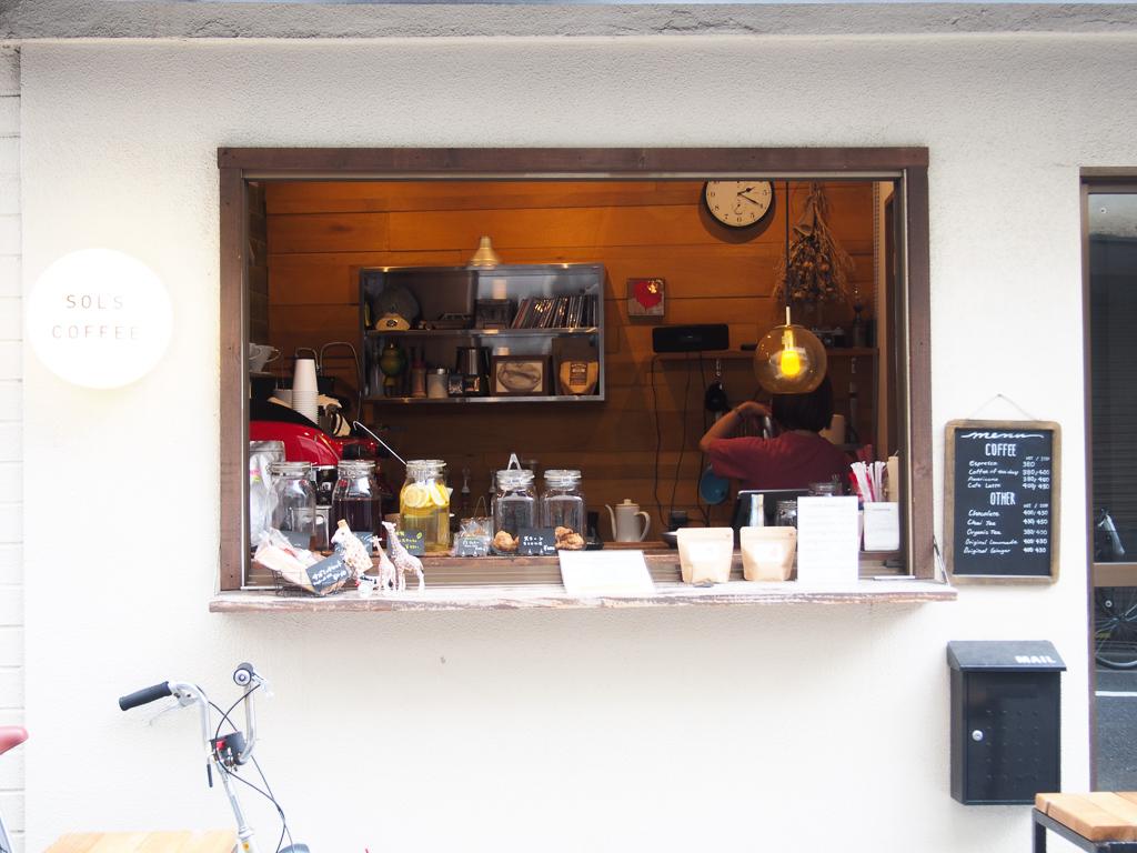 蔵前に3店舗を構えるコーヒースタンド「SOL'S COFFEE」