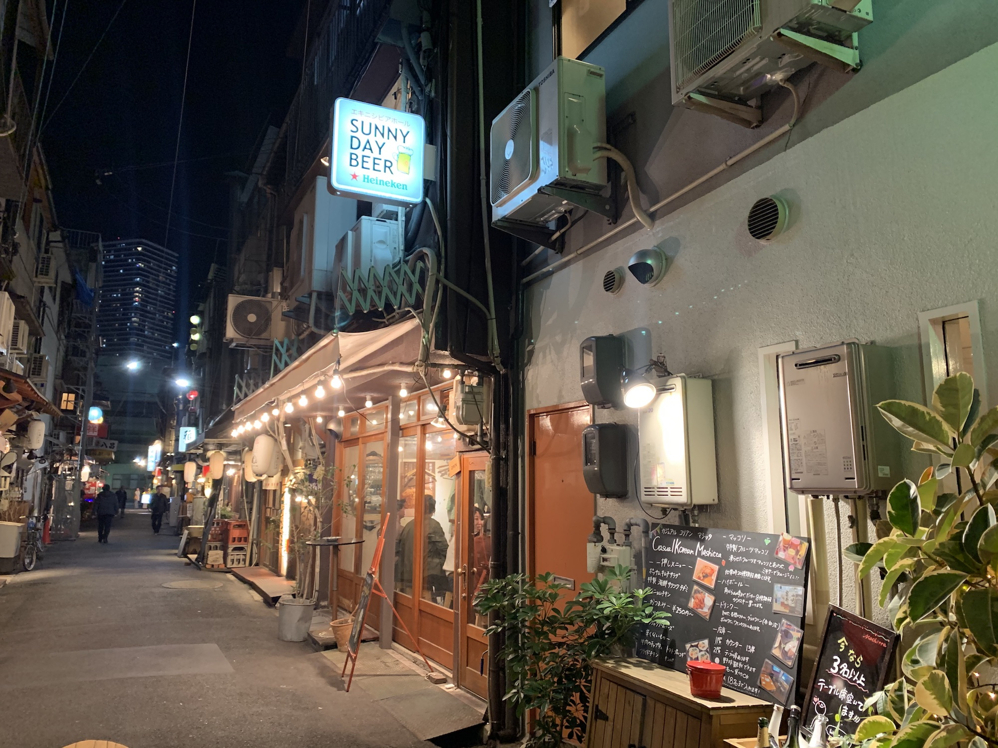 はしご酒が楽しくなりそうな、大須賀商店街