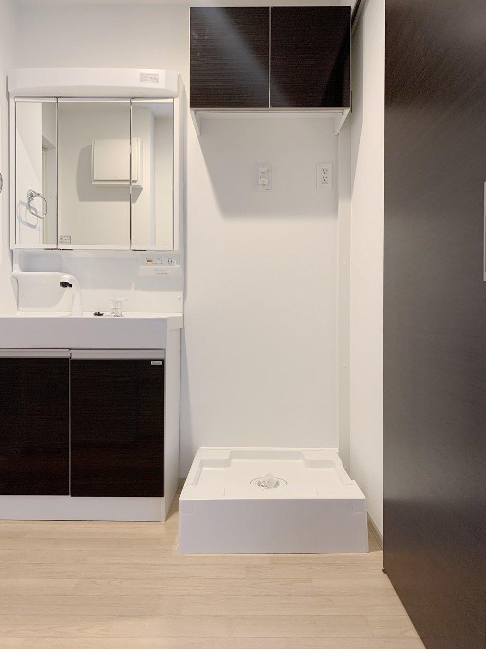 独立洗面台もあって、嬉しいです!