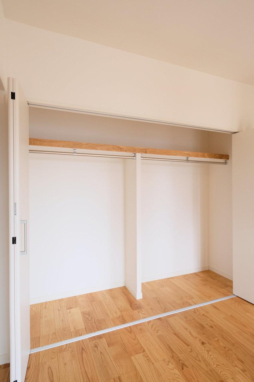 収納スペースも大容量!何から何までうれしいポイントが詰め込まれたお部屋なのでした。