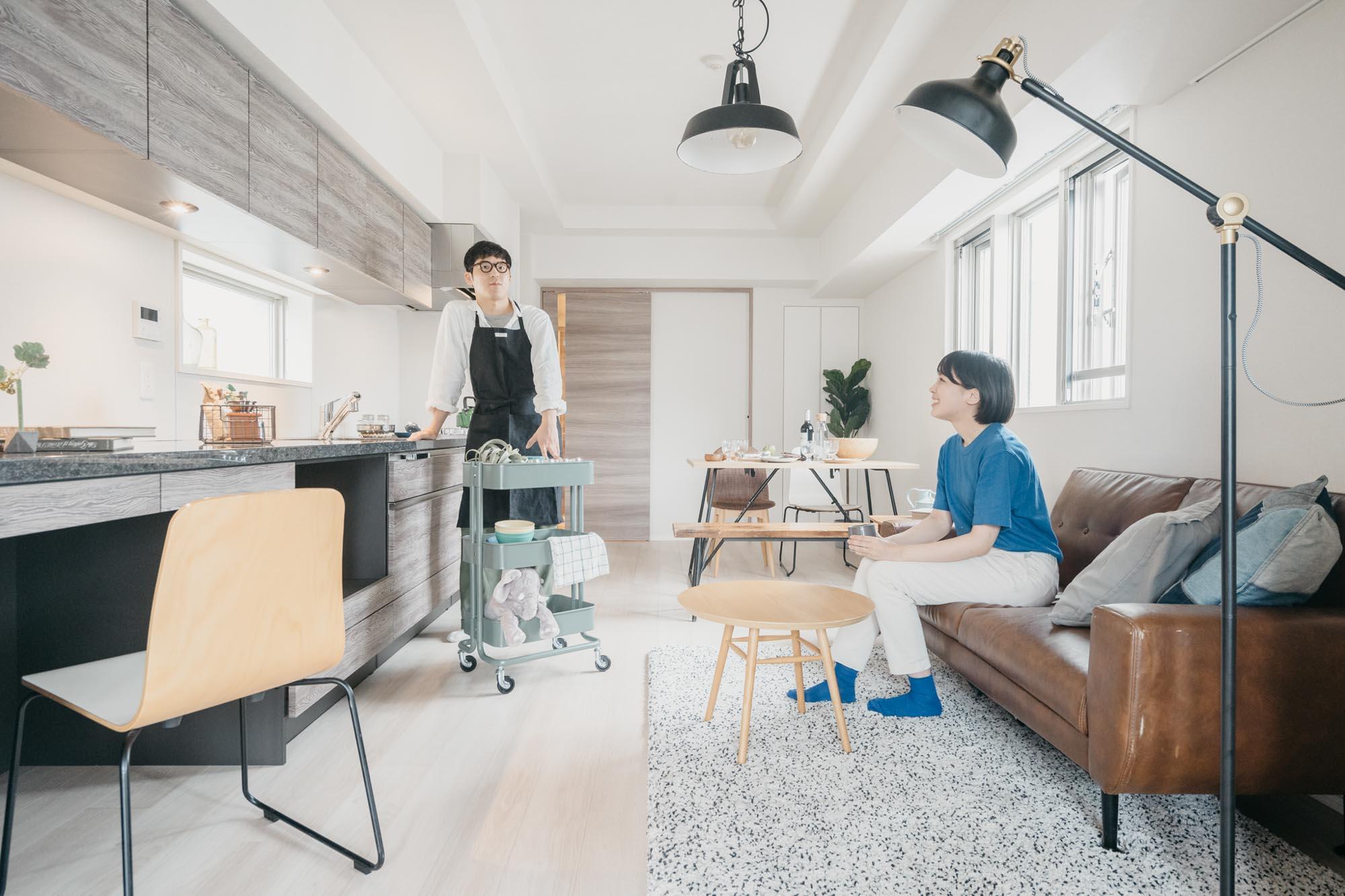 写真左から、グッドルームスタッフの三浦さんと木山さん。