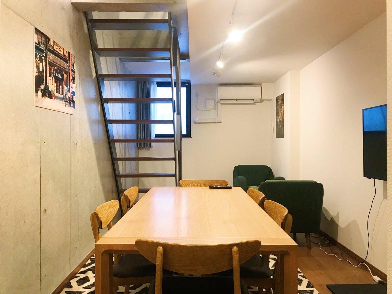 さらに特徴的なのは、入居者同士がコミュニケーションがとれるスペースがついていること。はじめての一人暮らしは寂しい……。そんな方にぴったりです。