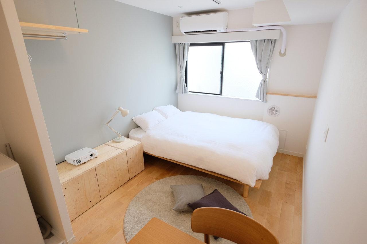 「マンスリーマンション」でも居心地よく。無印良品の家具を使ったお部屋ができました