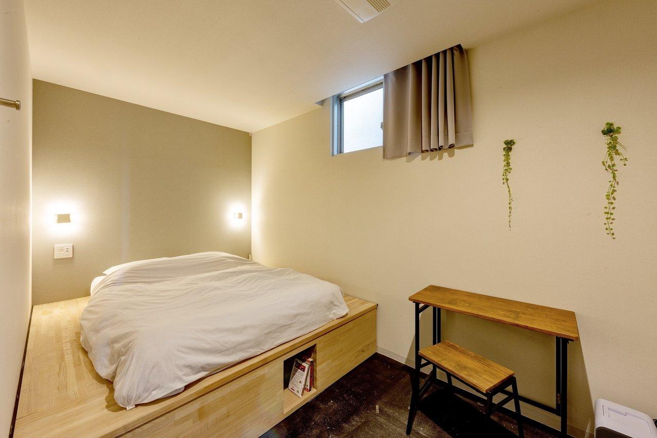 例えば「goodroom ホテルステイ」なら、このホテルの1ヶ月の滞在費が、月額5.8万円〜(このお部屋はこちら)