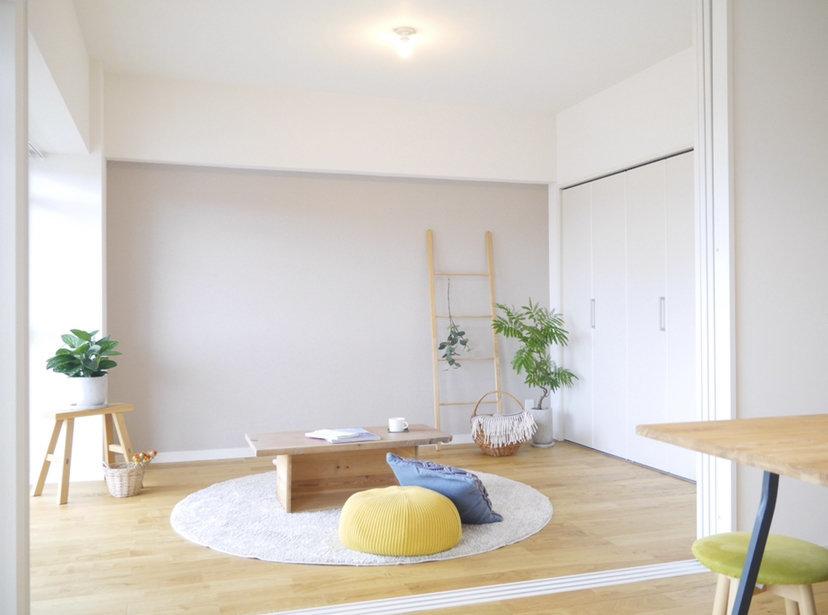 お部屋は2LDKとしても、1LDKとしても使える間取りが魅力。ライフスタイルに合わせて使い方を変えましょう。