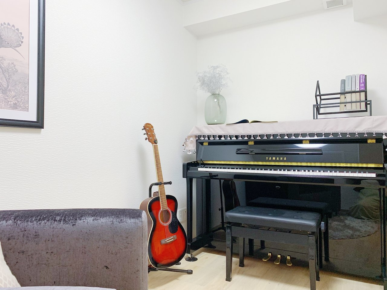 こちらのお部屋、4.7畳の防音室がついているんです!アップライトピアノなど、余裕で置けてしまう広さ。「楽器、やってみたかったんだよね」という方、チャンスですよ