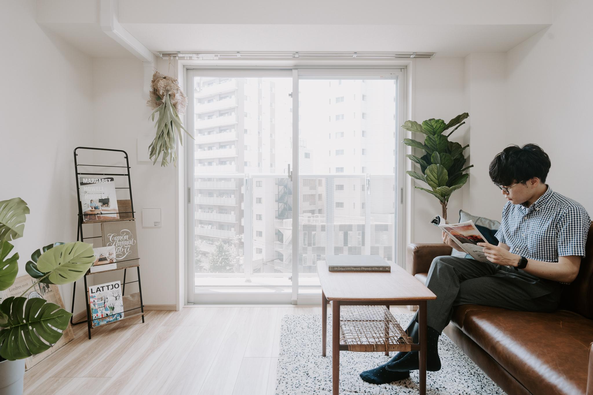 自分が本当に居心地よいと思える、一点モノのソファを見つけてみたい。