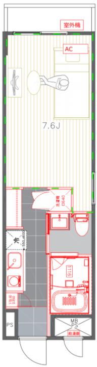この間取り図は一例です。当日内覧できるお部屋は複数あります。