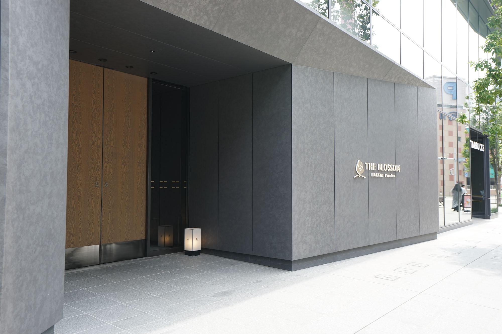 こちらがホテルの入り口。