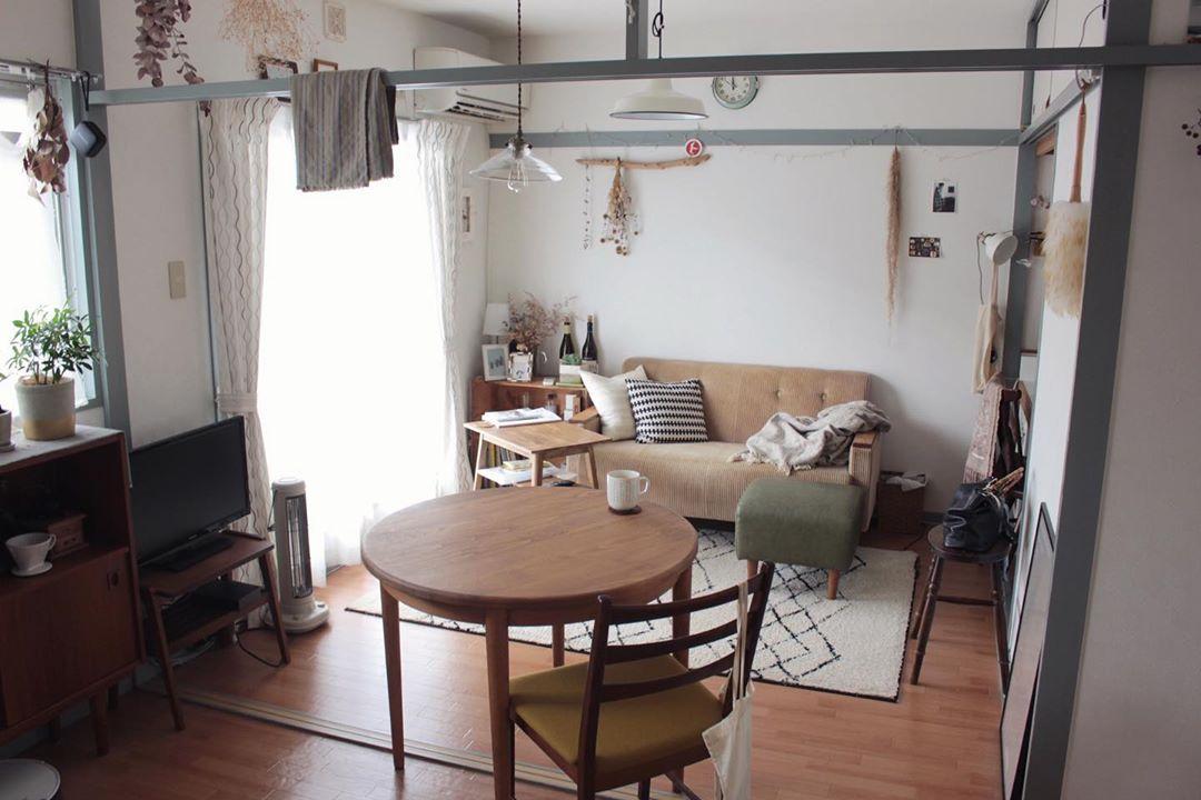 ダイニング・キッチン隣の洋室は、繋げてLDKのように使っています。