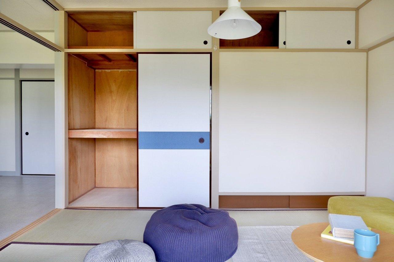 各部屋それぞれに押入れが付いているのが和室の特徴。これで収納場所に困ることはなくなりそうです。