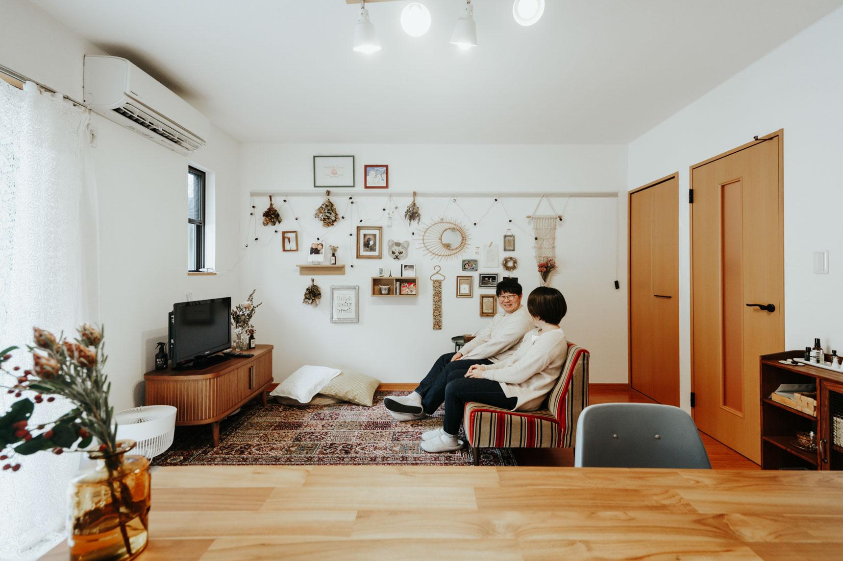 「ちょっと郊外。ゆとりある暮らしを楽しむ2LDKインテリア」こちらの記事もチェック!