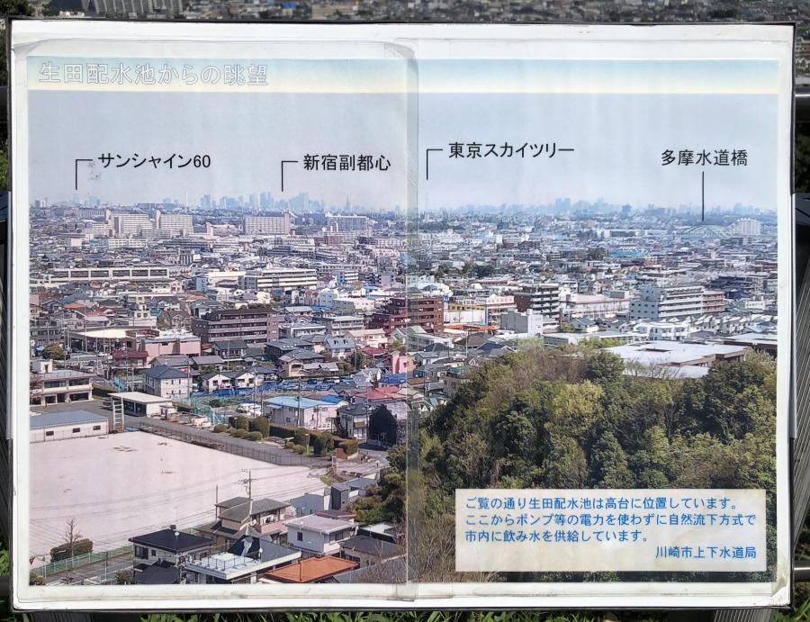 晴れている日には東京スカイツリーも見ることができます。距離を考えると大分遠いけれど、なんだか近くに感じてしまいますね。