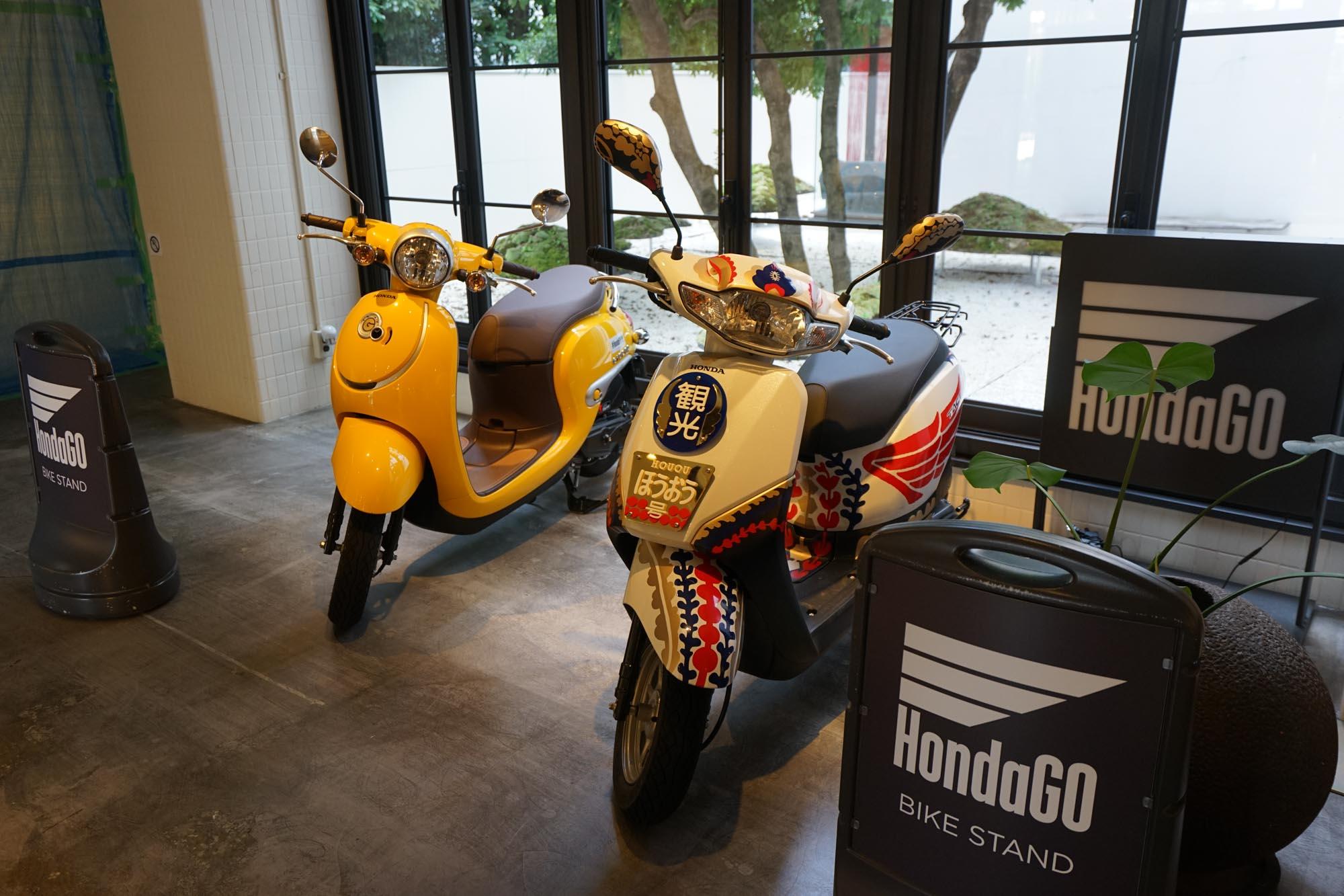 さらに、2020年9月24日までは、無料のレンタルバイクサービス「HondaGO BIKE STAND」も!普通自動車免許があれば乗れる50ccの原付です。