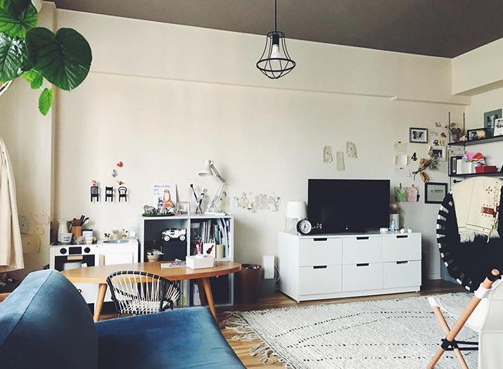 模様替えが好きで、家具の配置はよく変えてみるというinkriorさん。