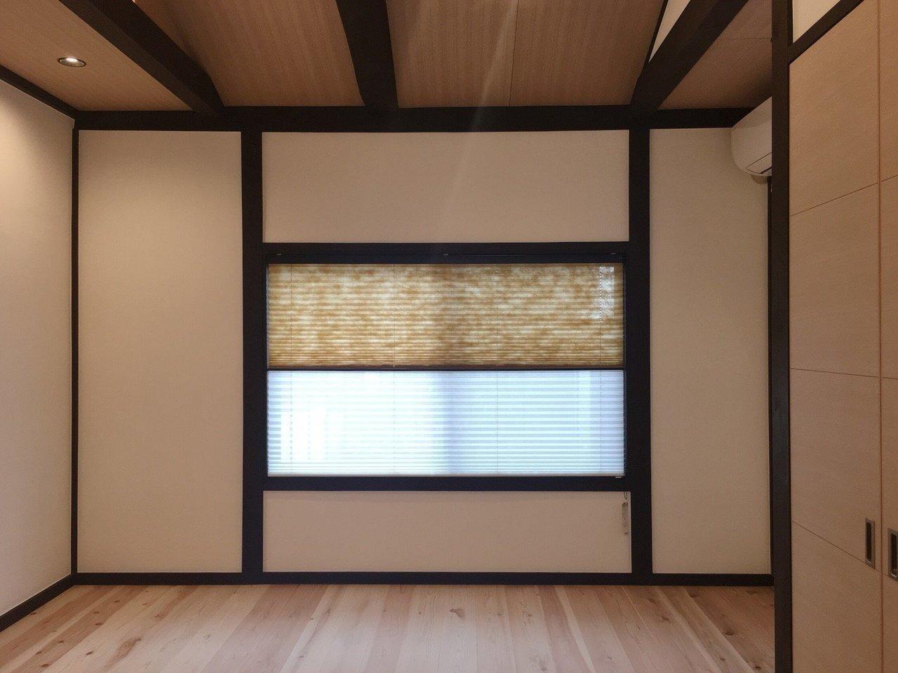 2階の洋室は7.2畳。無垢床の質感が気持ちよさそう!