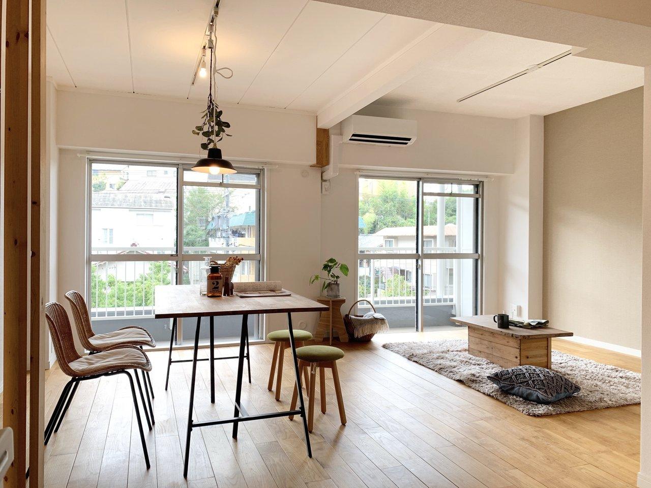 「開放感のあるリビング」で余裕のある暮らしを。名古屋・1LDK以上、広々リビングのあるお部屋まとめ