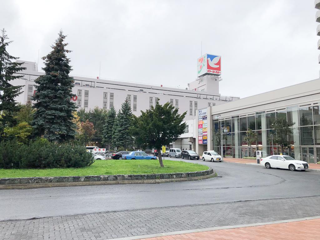 充実した商業施設が揃っているところも琴似駅の魅力の一つ。