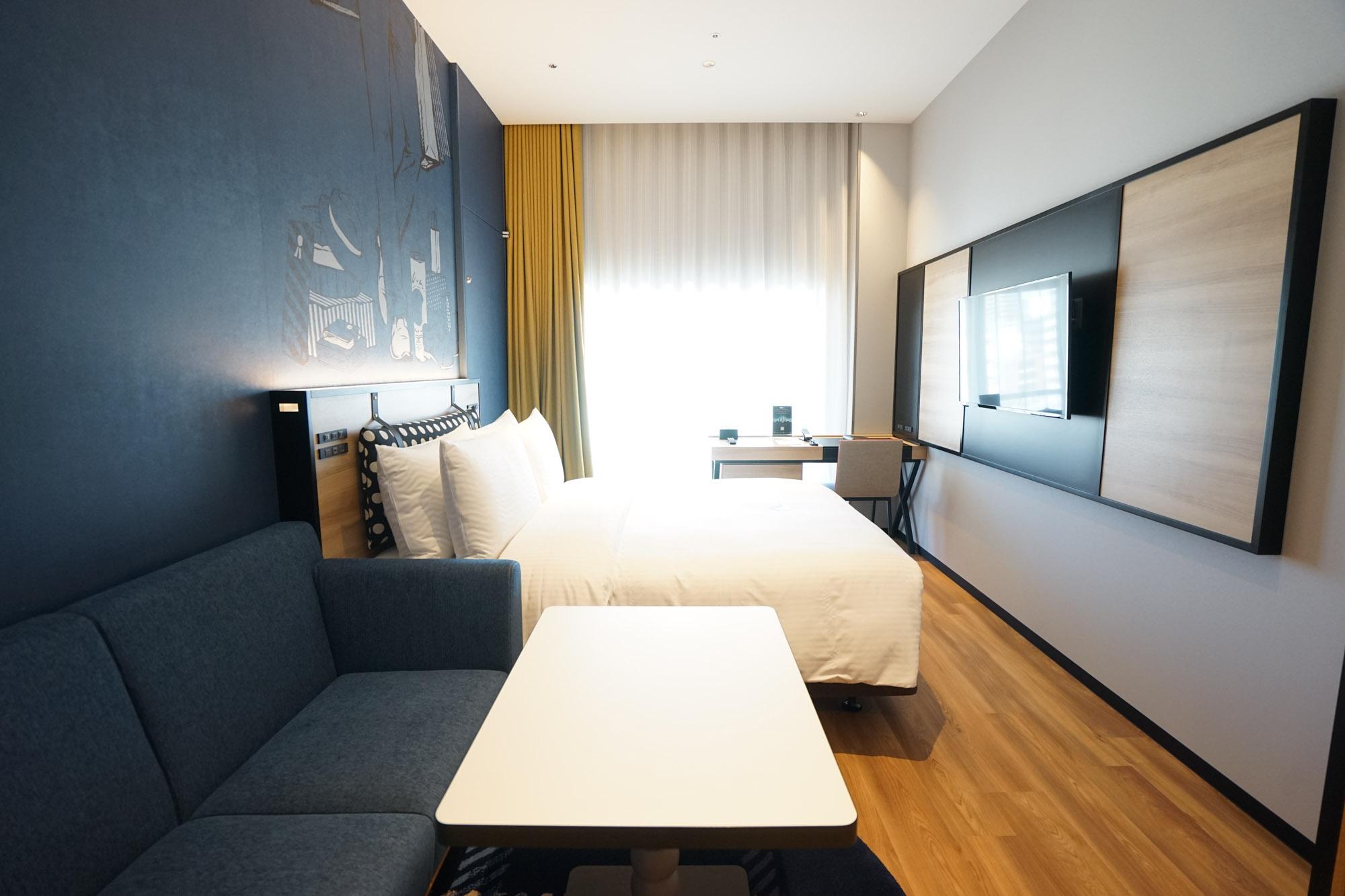 元百貨店建築。パリシックな内装のアパートメントホテル「シタディーンなんば大阪」宿泊レビュー