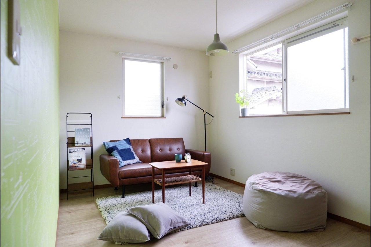もう一つの洋室は7.5畳。2面採光なので、寝室にすれば毎日明るい気持ちで目を覚ませそう。