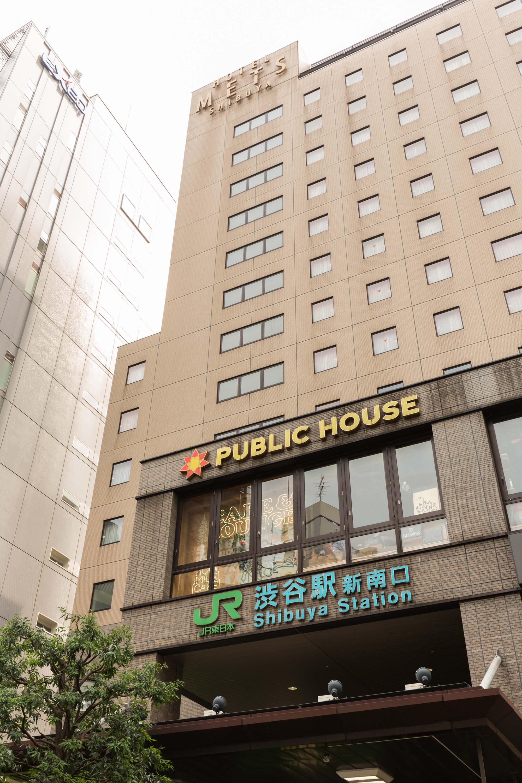 渋谷駅新南口の真上にあるホテルです。渋谷には最近、スクランブルスクエアやMIYASHITA PARKなど注目のスポットが続々登場しています。新南口からなら、代官山へも歩いていけますよ。