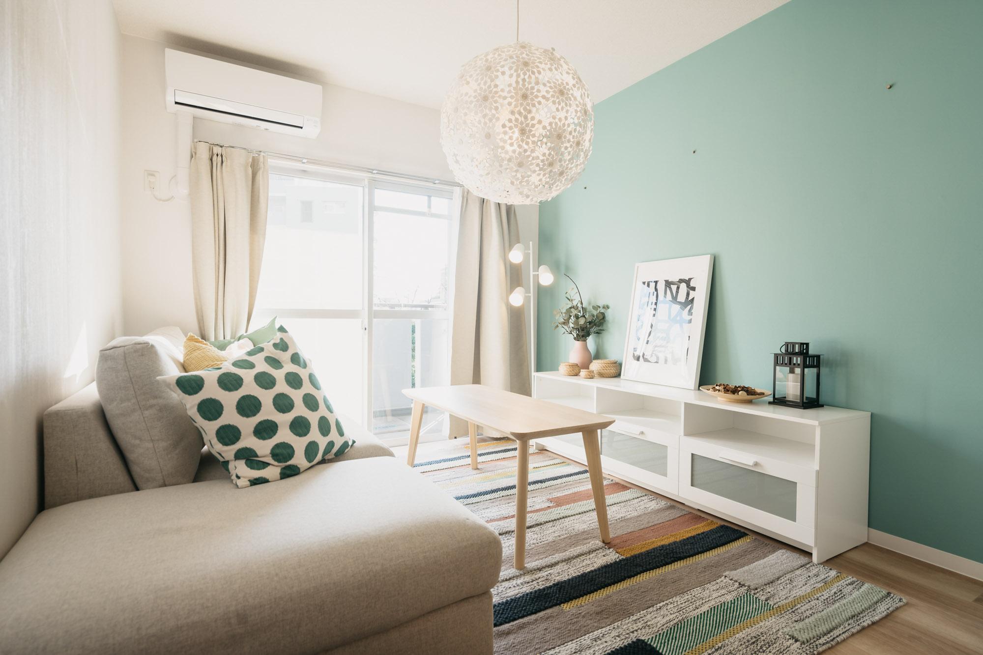 「イケアとURに住もう。」サンヴァリエ桜堤を訪問。明るくナチュラルなインテリアに笑顔になれるお部屋です