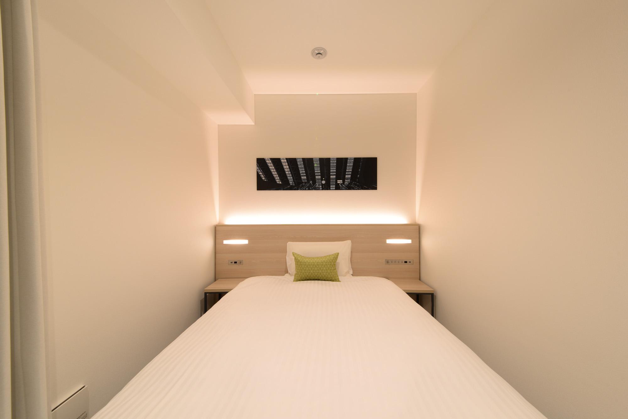 お部屋のデザインもミニマムでかっこいい。