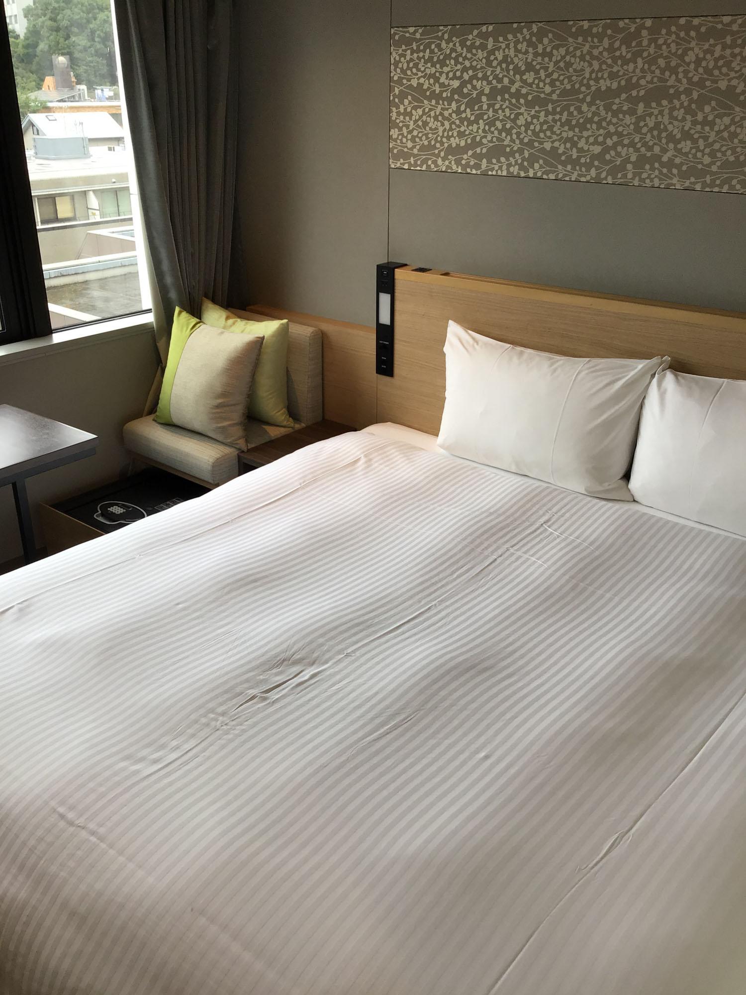 お部屋のデザインもかっこいい。複数のお部屋タイプがあるので、予算に合わせて選べますよ。
