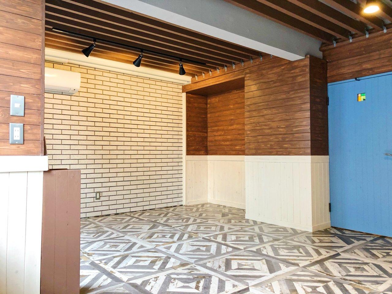 こんなお部屋あったらいいな、を叶えてくれるお洒落なブルックリンスタイルの物件です。壁紙や床にこだわりが詰まっています!