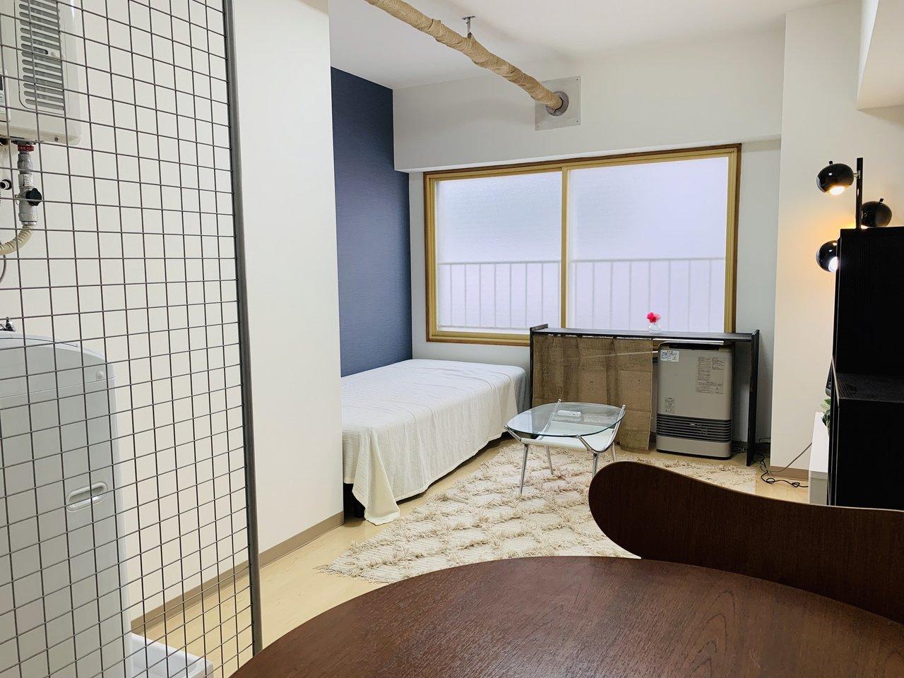 最後は家具家電が一式ついた、リノベーションマンション。初期費用を抑えたい、一人暮らしの方におすすめです。