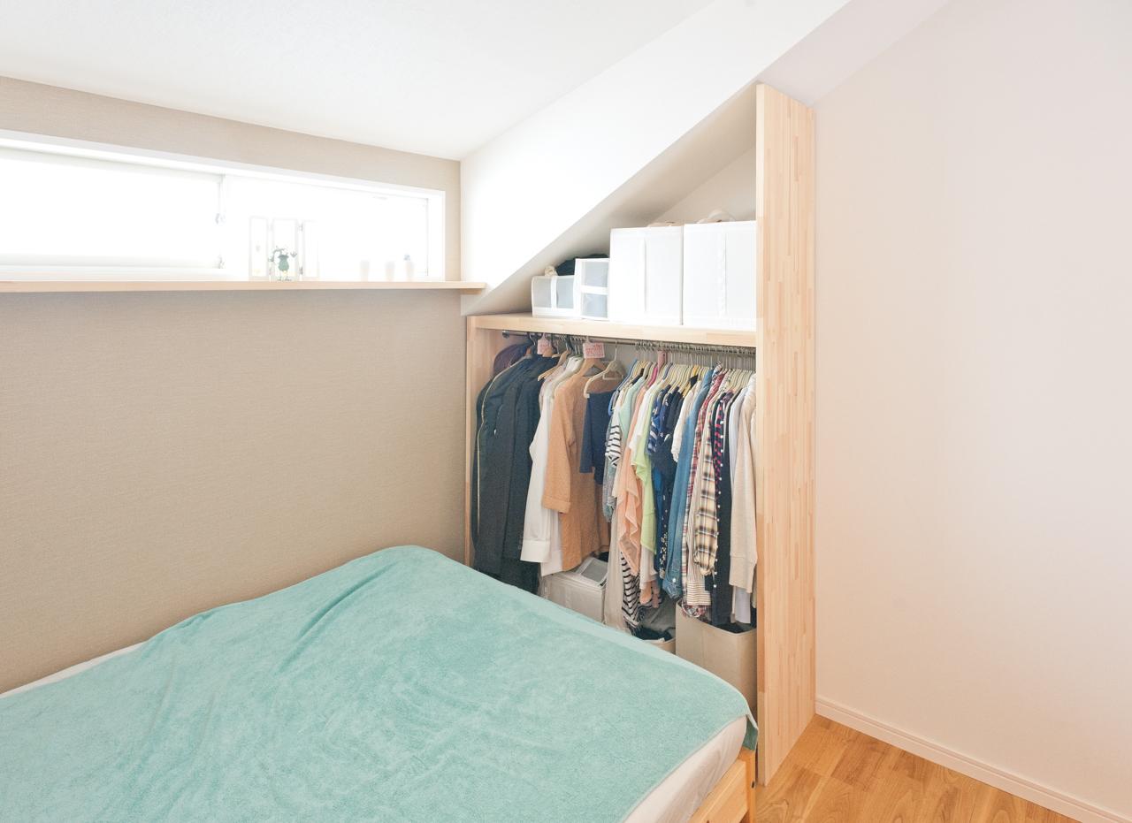 ロフトをしっかり寝室として使える広さ、明るさがあれば、ロフトつき1Kでも問題なく二人暮らしができます。