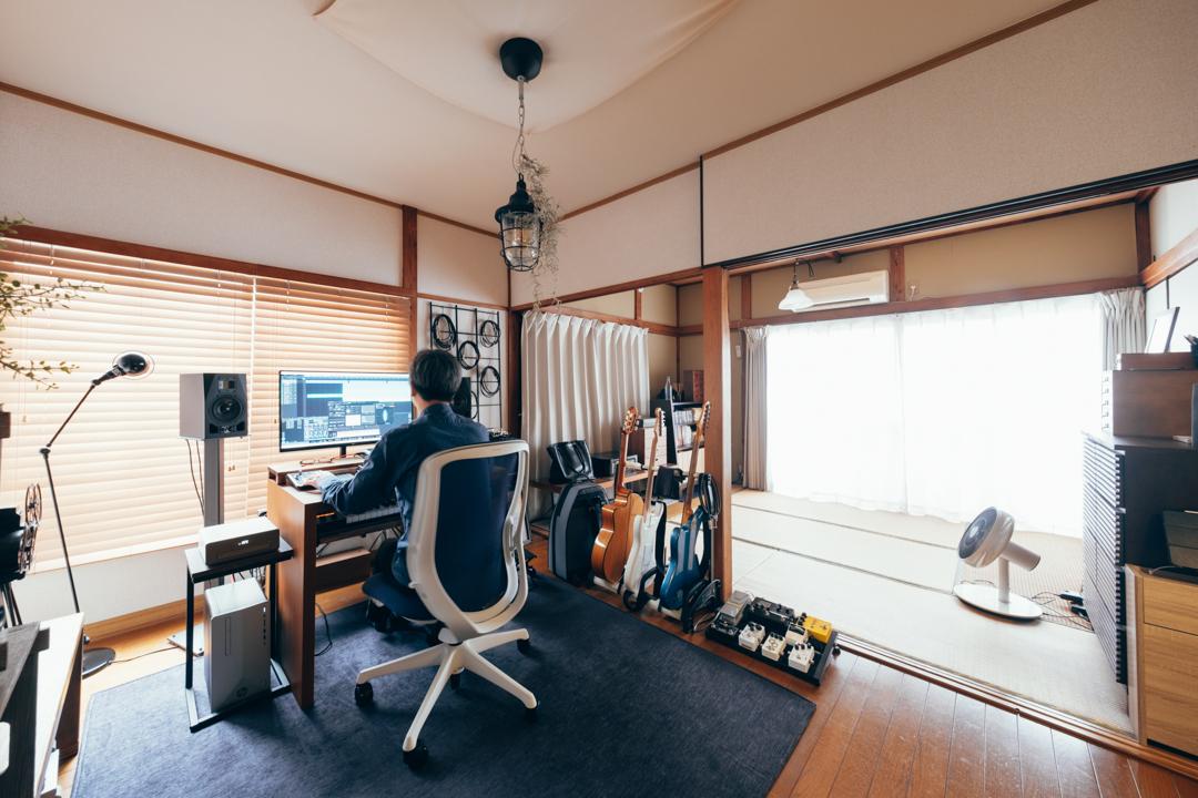 築50年超の物件で和室と洋室を巧みにミックス。1DK29㎡、一人暮らしのインテリア