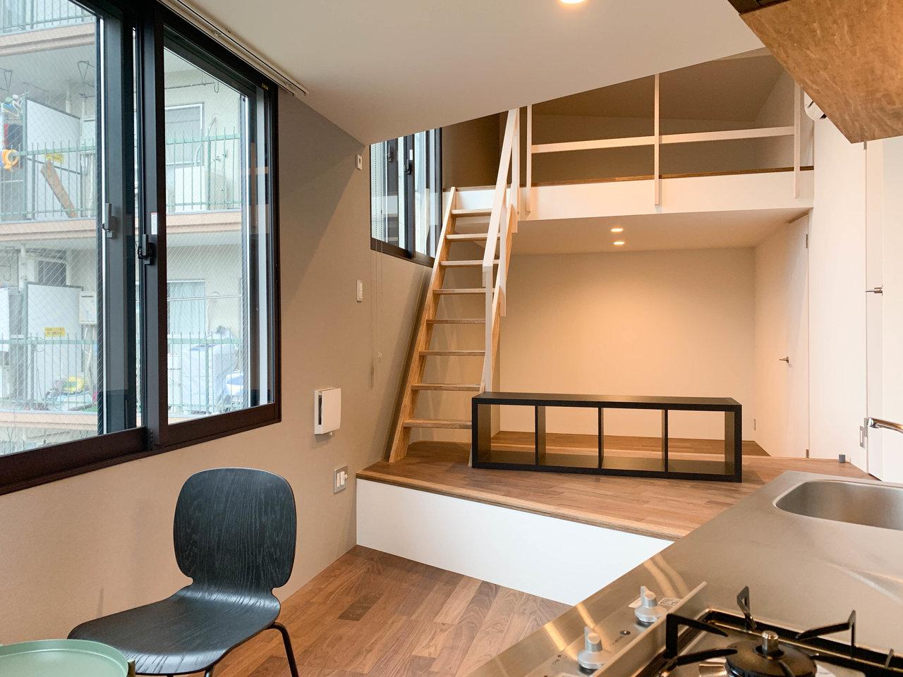 空間を上下にうまく使う。東京近郊・メゾネットタイプのお部屋まとめ