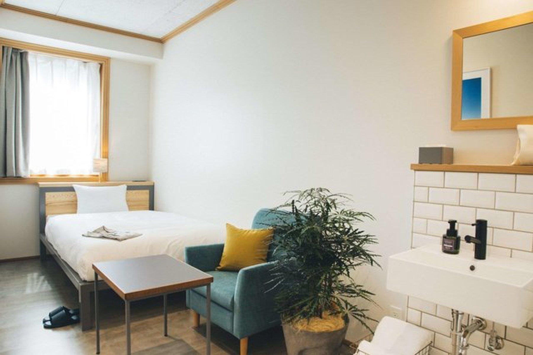 Hotel Noumは内装がとにかくおしゃれ!素敵なインテリアに囲まれて過ごしたい、という方におすすめです。
