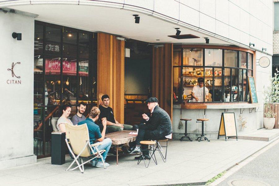 馬喰横山駅から徒歩2分という好立地にある、CITAN。