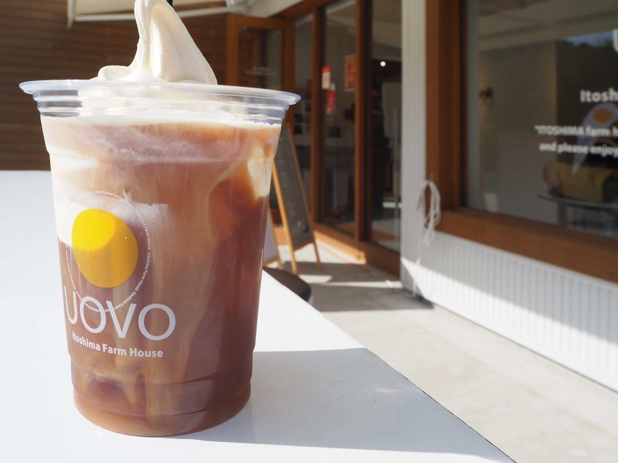 期間限定のコーヒーフロート600円(税込)をいただきました!天井卵を使ったソフトクリームがたっぷりとコーヒーの上にオン。贅沢な時間を堪能します。