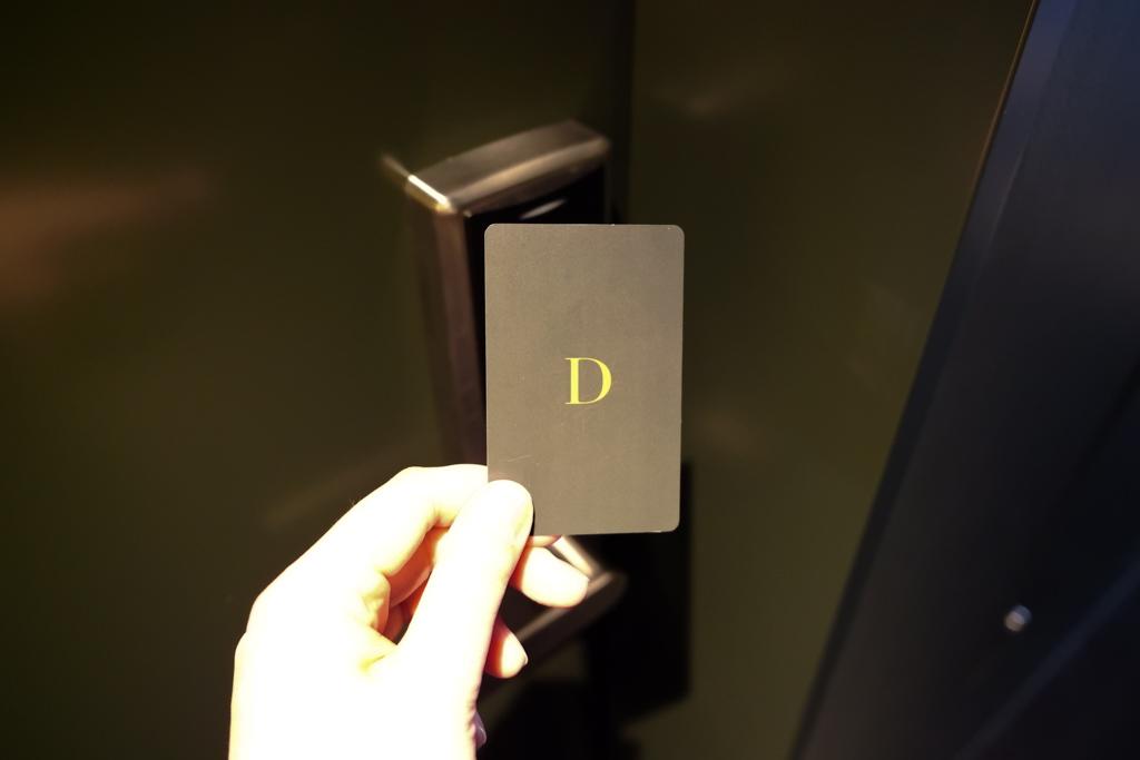 カードキーもシンプルでおしゃれ